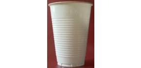 Becher Plastik 461/25 0.2l weiß HOSTI 36010330 7391017 25ST Produktbild