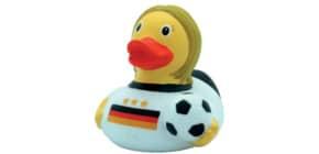 Badeente Fußballerin LILALU 1816 8.5cm Produktbild