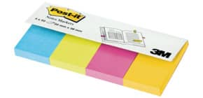 PageMarker 20x38mm Ultrafarben POST IT 670-4U 4x50 Blatt Produktbild