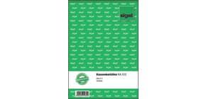 Kassenbuch A5 hoch, 50 Blatt SIGEL KA515 Produktbild