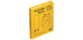 Telefonringbuch A5 4 Ring 16mm gelb VELOFLEX 5158000 gelb Produktbild