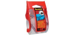 Verpackungsband 50mm 20m transparent SCOTCH E5020D inkl. Handabroller Produktbild