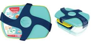 Brotbox Kids CONCEPT blau MAPED M870017 188x 80x253 mm Produktbild