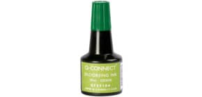Stempelfarbe 28ml grün Q-CONNECT KF25104 Produktbild
