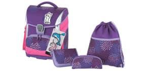 Schulranzenset 4tlg. Sprinkle violett SCHNEIDERS 78333/074 Toolbag Plus Produktbild