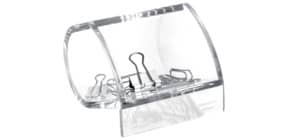 Büroklammernspender glasklar MAUL 19595 05 Acryl Produktbild