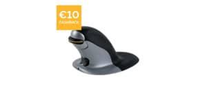 Maus Penguin Vertikal groß FELLOWES FW9894501 kabellos Produktbild