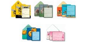 Einladungsset 10/10 Kindergeburtstag VENCEREMOS 35192 Produktbild