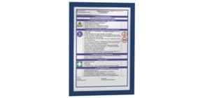 Magnetrahmen DURAFRAME® A4 DURABLE 4872 07 sk dunkelblau 2 Stück Produktbild