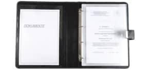 Dokumentenmappe A4 schwarz JÜSCHA 31514 Produktbild
