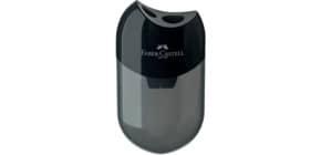 Dosenspitzer doppelt schwarz FABER CASTELL 183500 Produktbild