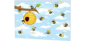 Schreibunterlage Crazy Bees RNK 46635 48x33cm/30 Blatt Produktbild