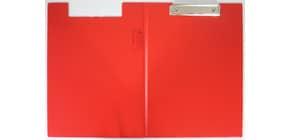 Klemmbrettmappe A4 rot Q-CONNECT KF01302 PVC Produktbild