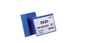 Sichttasche mit Falz 50ST A5q dunkelblau DURABLE 172207 Produktbild