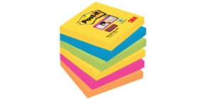 Haftnotizblock 6x90BL 76x76mm POST-IT 6546SR SuperSticky Produktbild