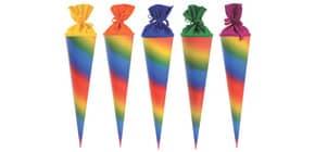 Bastelschultüte 70cm Regenbogen GOLDBUCH 97829 Produktbild