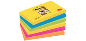 Haftnotizblock 6x90 Blatt 127x76mm POST-IT 6556SR SuperSticky Produktbild