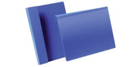 Sichttasche mit Falz 50ST A4q dunkelblau DURABLE 172307 Produktbild