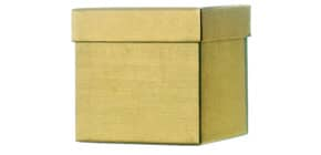 Geschenkkarton gold 51 7820 96 / 52 7820 99 10x10x10cm Produktbild
