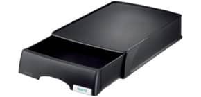 Briefkorb A4 plus schwarz LEITZ 5210-00-95 m.Schublade Produktbild