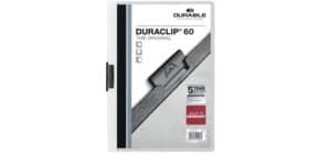 Klemmmappe Duraclip A4 weiß DURABLE 2209 02, 60 Blatt Produktbild