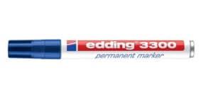 Permanentmarker blau EDDING 3300-003 1-5mm Produktbild