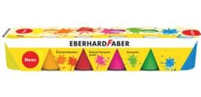 Fingerfarbe Schule 6ST Neon EBERHARD FABER 575507 25ml Produktbild
