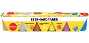 Schulmalfarbe 6ST Metallic EBERHARD FABER 575508 25ml Produktbild