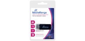 Kartenleser USB3.0 schwarz MEDIA RANGE MRCS507 Stick Produktbild