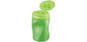 Dosenspitzer 3fach Easy grün STABILO 4502/4 Rechts Produktbild