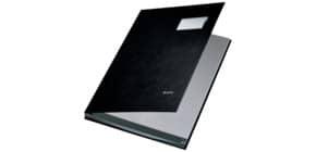 Unterschriftsmappe 10 Fächer schwarz LEITZ 5701-00-95 PP Produktbild