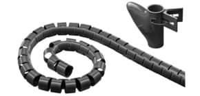Kabelbündler Schlauch schwarz MEDIARANGE MRCS301 20mm/2,5m Produktbild
