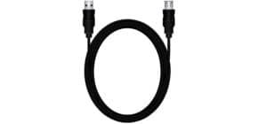 Verlängerungskabel A/A 3m sw MEDIARANGE MRCS111 USB 2.0 Produktbild