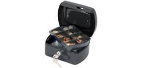 Geldkassette Gr. 1 schwarz Q-CONNECT KF02601/145121X Produktbild