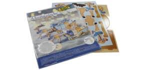 Adventkalender Set Rentierschlitten FOLIA 9397 Produktbild