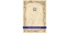 Urkundenblock A4 chamois DFW 880110 Marmor o.Druck Produktbild