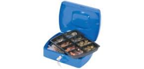 Geldkassette Gr. 3 blau Q-CONNECT KF02624/145303X Produktbild