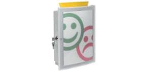 Combi-Box Image lichtgrau HAN 4102-11 abschließbar Produktbild