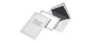 Kartenmappen 5/5 Leinen ELEPA 30002343 Trauer Produktbild