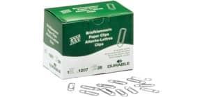 Büroklammern 26mm 1000 Stück DURABLE 1207-25 verz.spitz Produktbild