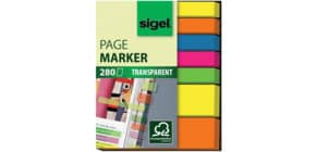 Haftmarker Film Mix sort. SIGEL HN616 50x63mm Produktbild