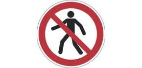 Bodenmarkierungssymbol VERBOT DURABLE 1732-03 Fußgänger verboten Produktbild