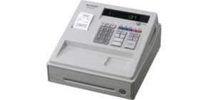 Registrierkasse elektrisch weiß SHARP XEA137WH Produktbild