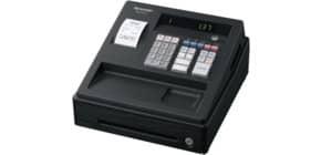 Registrierkasse elektrisch schwarz SHARP XEA137BK Produktbild