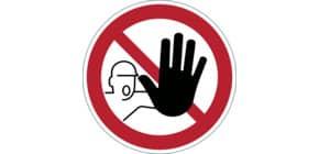Bodenmarkierungssymbol VERBOT DURABLE 1730 03 Zutritt verboten Produktbild