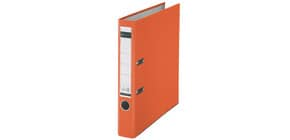 Ordner Plastik A4 5cm orange LEITZ 1015-50-45 Produktbild