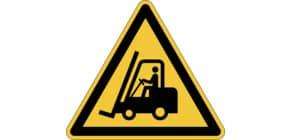 Bodenmarkierungssymbol WARNUNG DURABLE 1734 04 Fahrzeuge Produktbild