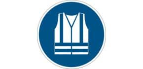 Bodenmarkierungssymbol WARNWESTE DURABLE 1735 06 Produktbild