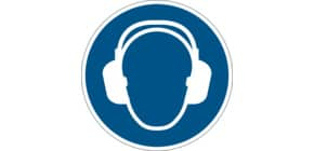 Bodenmarkierungssymbol Gehörschutz DURABLE 1729 06 Produktbild