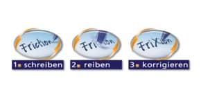 Tintenrollermine Frixion 0,4mm 3ST blau PILOT BLS-FR7-L-S3 2261003F Produktbild